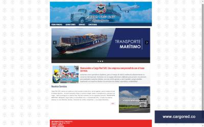 Diseño Web para Agencia Intermodal Cargo Red SAS.