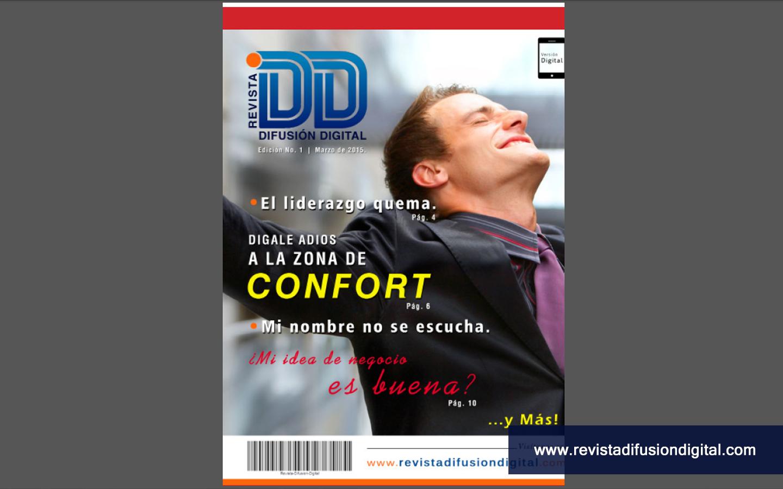 Diseño de Publicación Digital de Periodicidad mensual para Revista Difusión Digital