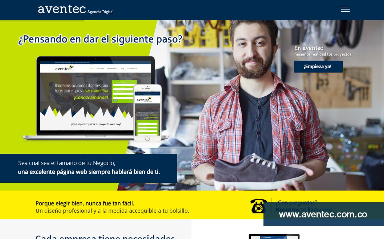 Diseño Web para Agencia Digital