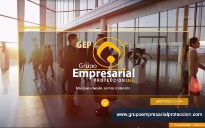 Diseño web para la Empresa Grupo Empresarial Protección Ltda.