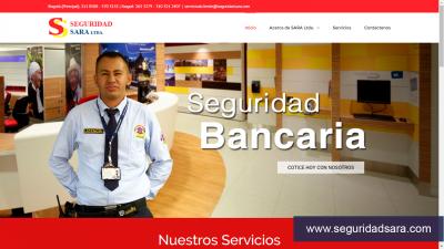 Diseño Web para Empresa de Seguridad Privada en Colombia.
