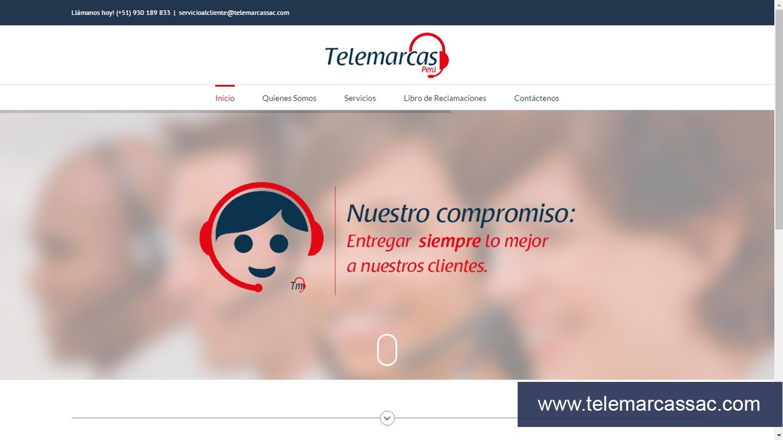 Diseño web para empresa importadora y distribuidora de productos en todo Perú.